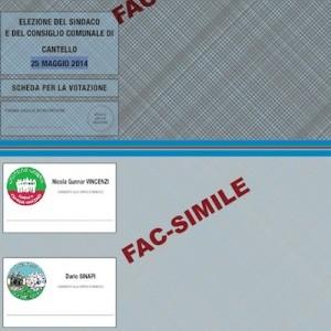 scheda elettorale cantello